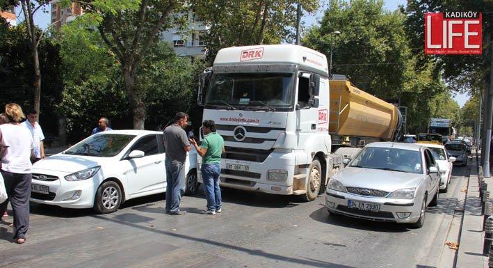 Bagdat Caddesi'nde prestij dibe vurdu (3)