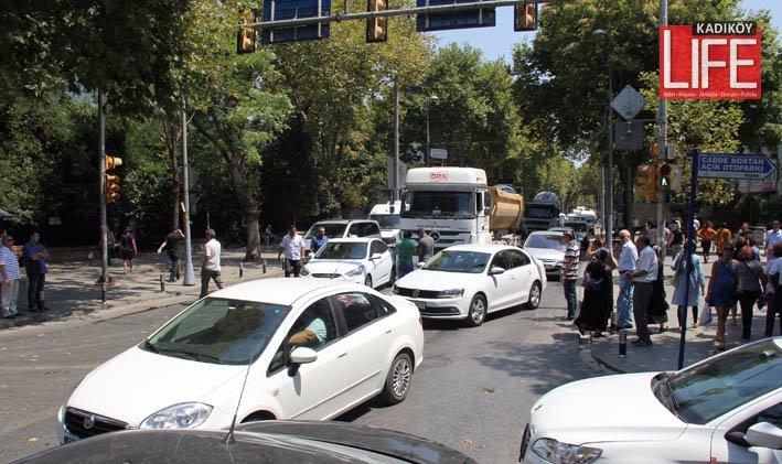 Bagdat Caddesi'nde prestij dibe vurdu (4)